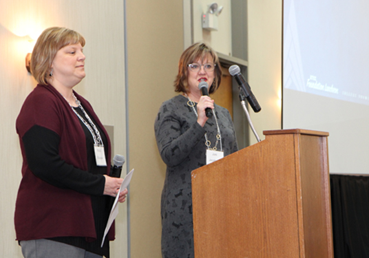 Rondi Wussow and Joni Jacobson, Early Childhood Education Instructors