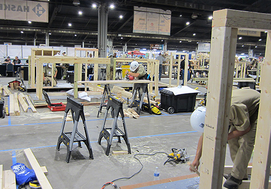 Carpentry – High School Division – Logan Bloom – 3rd Place